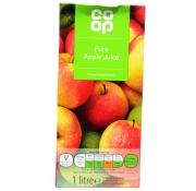 Co Op Pure Apple Juice